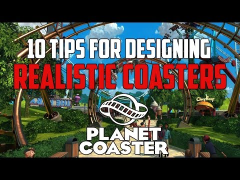 Planet Coaster Tips | How To Design a Realistic Roller Coaster | Roller Coaster Tutorial