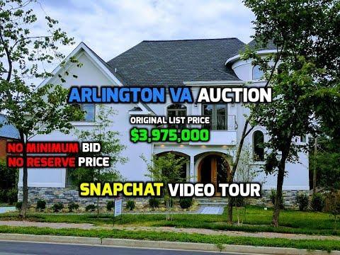 2015 S Arlington Ridge Rd | Arlington VA Auction | Snapchat Video Tour