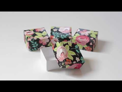 How to Easily Make a Small Paper Box