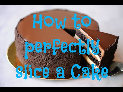 Excellent Trick!! How to perfectly slice a cake