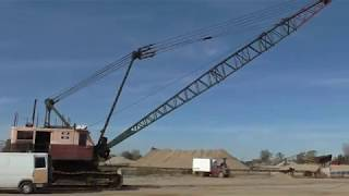 Repairing A Dragline (stick Welding With Heather)