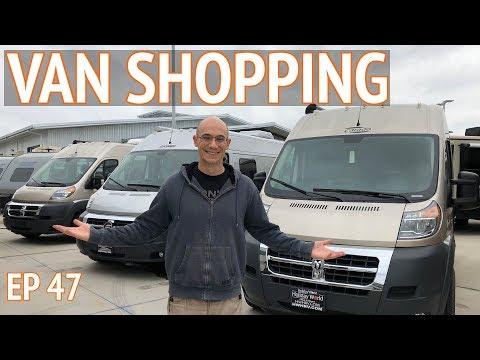 We're Going Van Shopping   EP 47 Camper Van Life