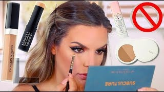 TRYING THESE PRODUCTS ONE LAST TIME! WHAT I KEPT & WHAT I TOSSED   Casey Holmes