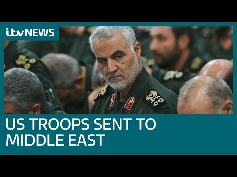 Xxx Mp4 Troops Sent To Middle East After US Killing Of Iranian General Qassem Soleimani ITV News 3gp Sex