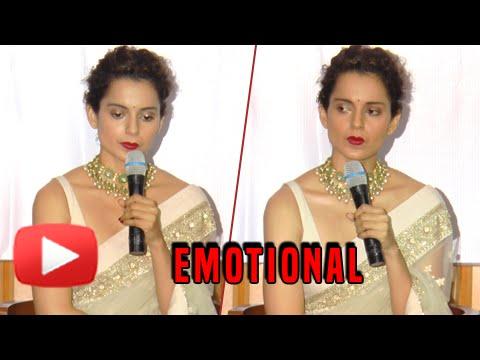 Kangana Ranaut Emotional, Reveals Her Troubled Childhood Story