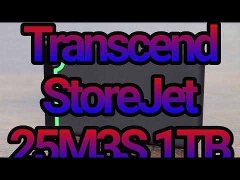 Жесткий диск Transcend StoreJet 25M3S 1TB TS1TSJ25M3S 2.5