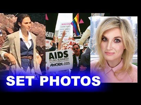 Wonder Woman 1984 Set Photos - AIDS Crisis