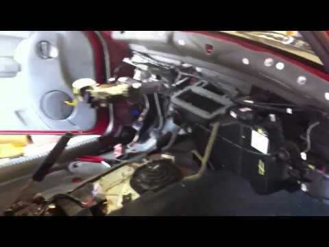 Dashboard removal jeep liberty 2006