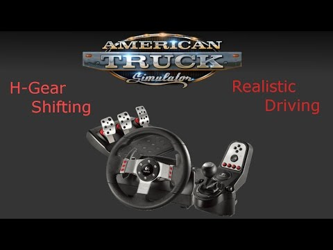 HOW TO SETUP LOGITECH G27 WHEEL TO ATS!