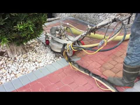 how to restore painted brick pavers, how to strip paint from paver stones