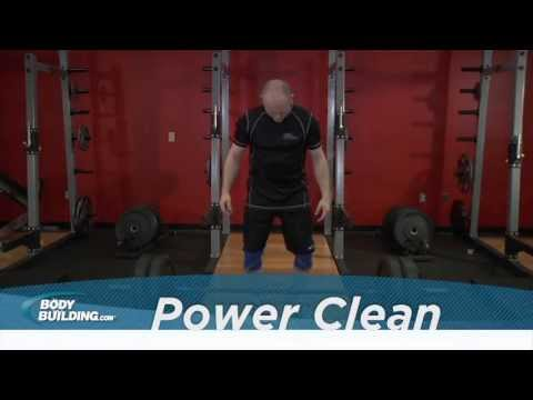 Power Clean - Back & Legs Exercise - Bodybuilding.com