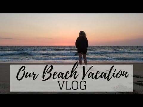 Vacation to the Outer Banks TRAVEL VLOG 2018 | Jacqueline Wheeler
