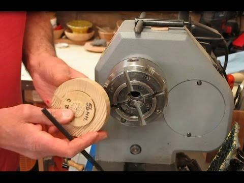 Wood Turning - How to Hold Work Securely in a Chuck