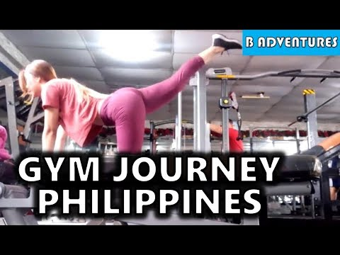 Filipina Gym Journey, Booty Burn