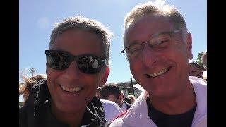 Videointervista a Fiorello e Paolo Bonolis a Tennis and Friends, su SpettacoloMania.it