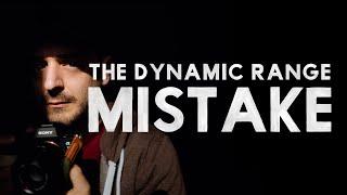 CHIAROSCURO — The Dynamic Range Mistake