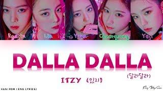 Download ITZY (있지) - 달라달라 (DALLA DALLA) [Color Coded Han|Rom|Eng Lyrics] 가사 Video