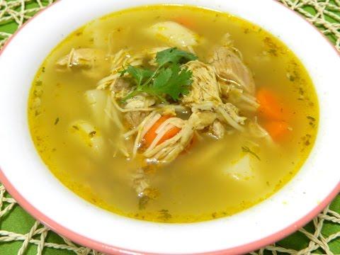 Sopa de Pollo Boricua (Puerto Rican Chicken Soup)