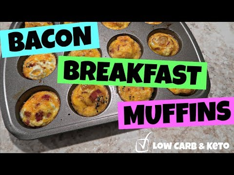 Bacon Egg & Cheese Muffins | On-the-Go Breakfast Idea