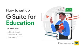How to set up GSuite for Education