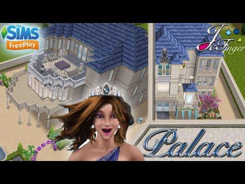 The Sims FreePlay 👑 ⚜️| MEZZANINE PALACE | ⚜️👑 By Joy.