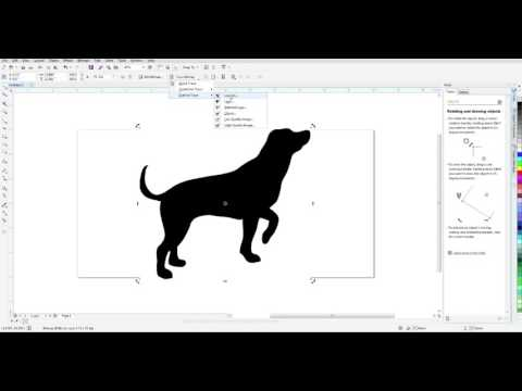 CorelDRAW Trace Image for Laser Cutting