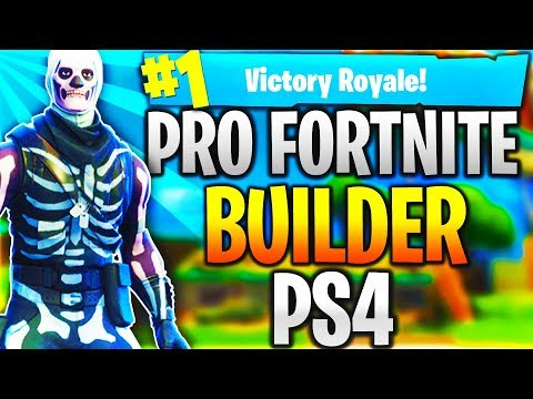 Pro Fortnite Player PS4! Level 100 | Top Builder | Fast Builder | 12k+ Kills! (TOP CONSOLE BUILDER)