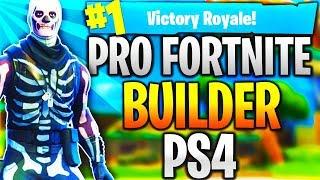 Pro Fortnite Player PS4! Level 100   Top Builder   Fast Builder   12k+ Kills! (TOP CONSOLE BUILDER)