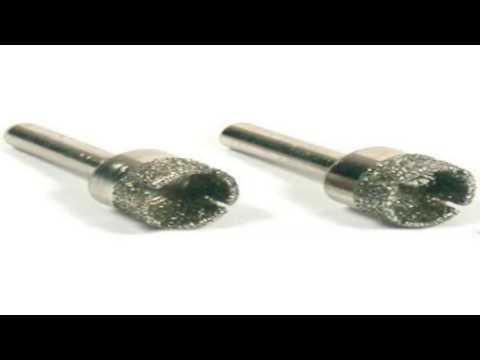 3 Diamond Hole Saws Metal Lapidary Cutting fits Dremel