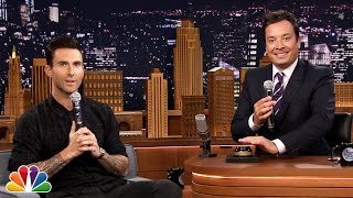 Wheel of Musical Impressions with Adam Levine