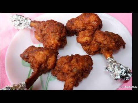 chicken lollipop recipe in Hindi ( चिकन लॉलीपॉप )