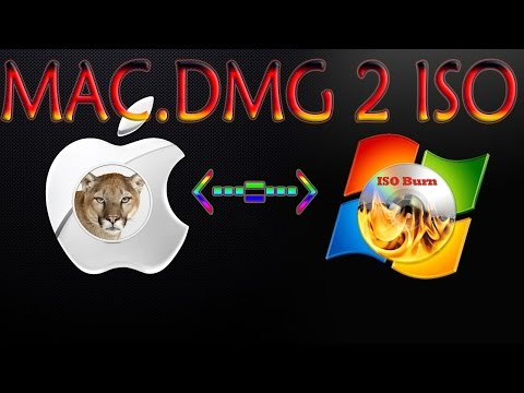 Easy & Quick Convert Mac.DMG to ISO
