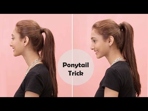 How To Get The Perfect Ponytail | Bobby Pin Trick