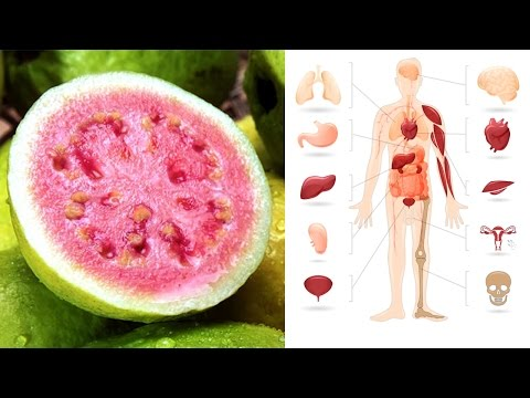 Guava Fruit and Guava Leaves Health Benefits