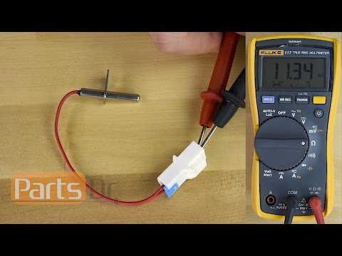 How to test Thermistor LG Part # 6323EL2001B & GE Part # WE04X10114