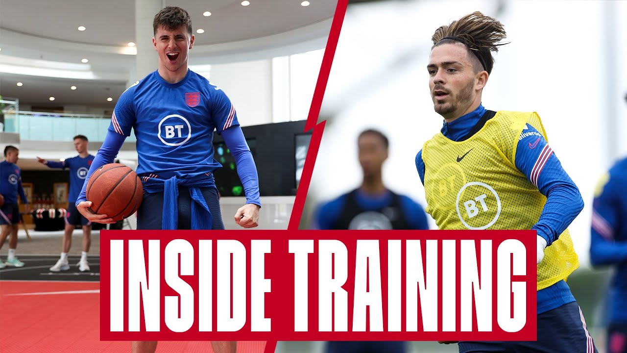 Grealish's Amazing Volley, Rice v Mount Basketball & Hat-Trick Shooting Challenge | Inside Training