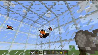 How To Make A Butterfly House On The Minecraft Animals Plus Mod