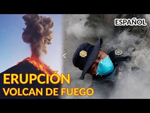 Volcán de Fuego - EL VIDEO MÁS IMPORTANTE   Guatemala Erupción