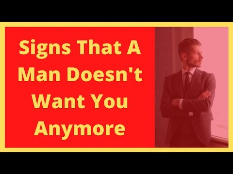 Signs That A Man Doesn't Want You Anymore
