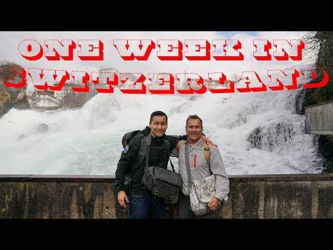 One Week in Switzerland: Zurich, Lucerne, Zermatt, Bern, and Geneva in 4K
