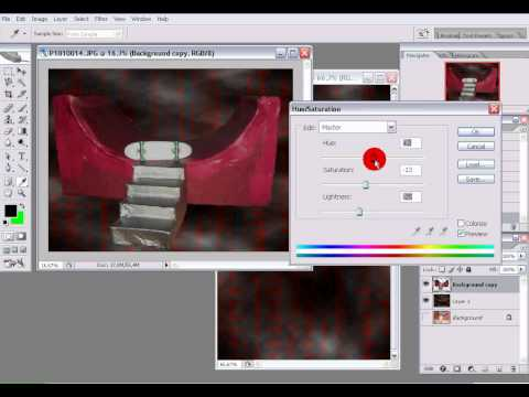 How to remove background using Photoshop CS2