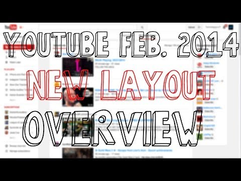 New February YouTube Layout Changes - Overview and Thoughts