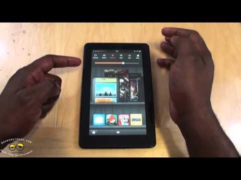 Kindle Fire OS & Silk Browser  Walkthrough