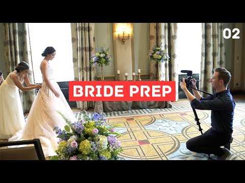 Wedding Filmmaking Behind the Scenes - Beth and Phil (Part 2/4)