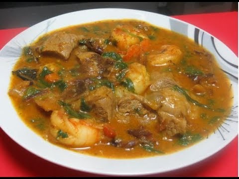How to make Ogbono soup | Nigerian way of cooking ogbono soup