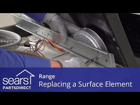 Replacing a Range Radiant Surface Element