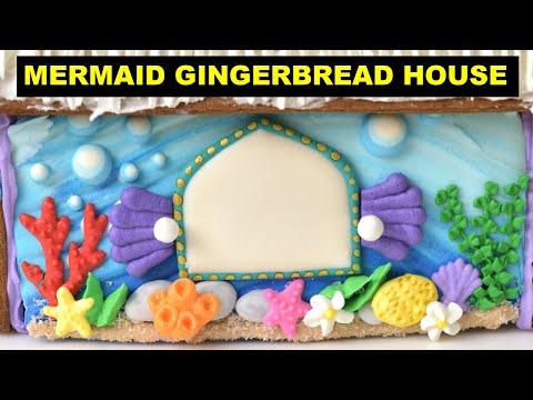 DISNEY LITTLE MERMAID GINGERBREAD HOUSE by HANIELA'S