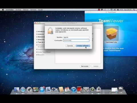 Como Instalar Teamviewer para Mac OS X Lion 10.7.4