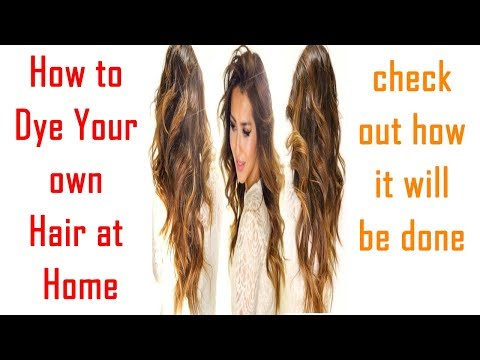 How to Dye Your Own Hair at Home   At Home Hair Dye Tips