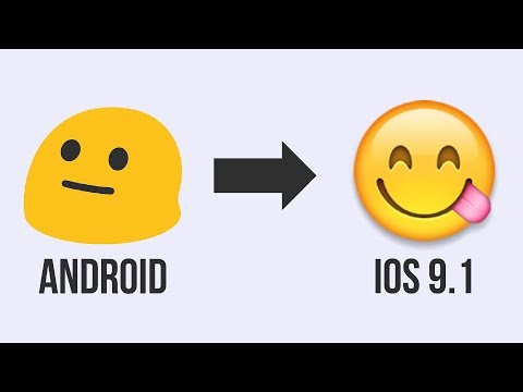 Change Android Emoji To IOS 9.1 [NO SKIN / NO NEW KEYBOARD]